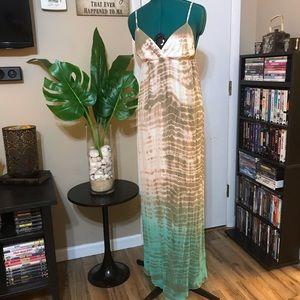 Gypsy 05 silk Audry maxi dress